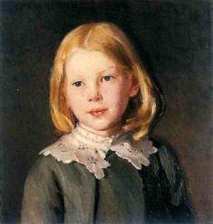 Helga Ancher - Michael Peter Ancher (1849 – 1927, Danish)