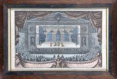 LE MALADE IMAGINAIRE, TROISIÈME JOURNÉE, performed in the gardens of Versailles, 1676 by Jean le Pautre (1618-1682)