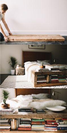 Ingenioso banco librería / Vía http://blog.urbanoutfitters.com/