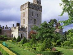 Lismore Castle features the oldest continually cultivated gardens in Ireland