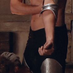 When I saw this sequence for the first time, I've been in silent prayer ...and  :P  Richard Armitage as Guy of Gisborne (GIF)