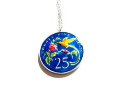 Coin Pendant, Pendant Necklace, Streamers, Coins, Jewelry, Jewlery, Rooms, Jewerly, Paper Streamers