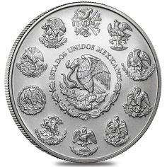 Order 2014 Mexico 1 oz Silver Libertad BU at APMEX or call We offer competitive Silver prices on 1 oz Silver Libertads and secure online ordering. Silver Eagle Coins, Silver Eagles, Silver Coins, Bullion Coins, Silver Bullion, Uncirculated Coins, Coins For Sale, Silver Prices, Rare Coins