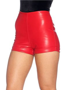 Route 66 Red Road Shorts - LIMITED (AU $60AUD / US $40USD) by Black Milk Clothing