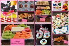 Mickey Mouse Clubhouse Party - food ideas
