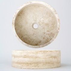@Overstock   This Natural Travertine Stone Vessel Sink Can Lift Your  Bathroom To A New
