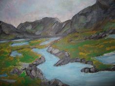 Landscape, Donegal Donegal, Paintings, Landscape, Art, Art Background, Scenery, Paint, Painting Art, Kunst