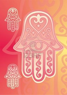 hamsa hand of fatima with eye