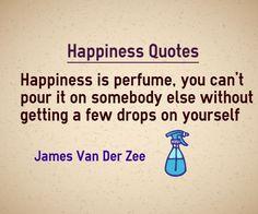 James Van Der Zee happiness perfume quote
