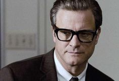 Colin Firth looking very Marcello Mastroianni