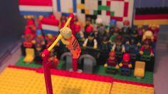 Lego Gymnastics Olympics 2012 - a tribute to Epke Zonderland. Gold!