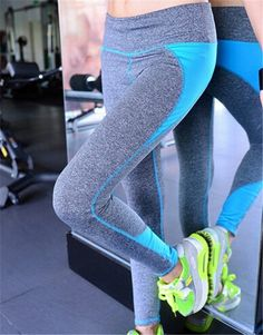 92d35a85af B.BANG Women Yoga Pants Sport Fitness Running Sportswear Tights Quick  Drying Compression Trousers Gym Slim Legging