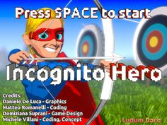 Incognito Hero, by @MatteoRomanelli & co. for #LD48