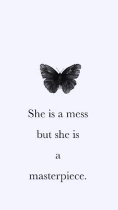she is a mess but she is a masterpiece. Tired Mom Quotes, Me Quotes, Self Esteem Quotes, Free Iphone Wallpaper, He Loves Me, Islamic Quotes, Gemini, Facts, Sayings