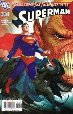 Superman Superman The Third Kryptonian, Part One: The Hunt DC Comics Dec 2007 Marvel Girls, Marvel Dc, Frank Miller, Dc Comics Superheroes, Dc Comics Characters, Deathstroke, Jean Grey, Power Girl, Comic Book Covers