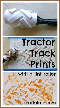Tractor Track Prints