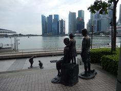 Singapur - 2/2017 - Marina Bay - umění ve veřejném prostoru