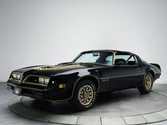 1978 Pontiac Firebird Trans-Am All Girls Look More Beautiful Dressed in Black!!! & She is Gorgeous!!!