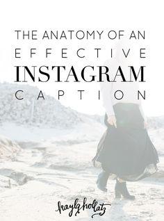 The Anatomy of an Effective Instagram Caption | Kayla Hollatz: Community Coach for Creatives
