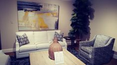 Kalin Home Furnishings Ormond Beach, Living Room Seating, Furniture Showroom, Home Furnishings, Upholstery, Couch, Painting, Design, Home Decor