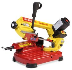 Starrett Portable Bench Top Bandsaw - available in Sheffield from MF Hire.