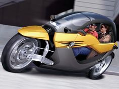 BMW iCAR - BEST LOOKING THREE WHEELER -   FULLY TILTING AND A BLAST ON WHEELS....PLEASE MAKE IT !!!