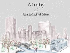 Winter in Central Park nail polish collection. www.etoilepolish.com