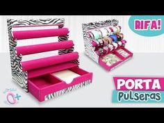 DIY✔ PORTA-Pulseras y Más! / Holder Bracelet and more! - YouTube