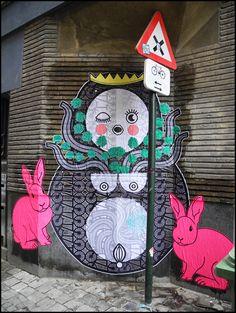 """""""La Petite Reine"""" - Bruxelles Centre, rue du Pays de Liège (B)"""