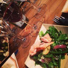 Juuren ateria Juhlaviikoilla. #ravintolajuuri