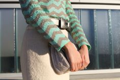 A very minty winter look. #mint
