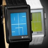 LCD Watch Design with Time, Date and Backlight: Kisai Stencil  으아으아 이쁘다....