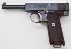 Webley Scott automatic pistol, cal.38 High Velocity (.38ACP), model of 1910 (version with automated grip safety).