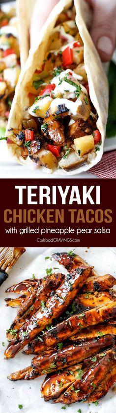 Teriyaki Chicken Tac