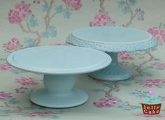 Duck Egg Blue Cake Stands