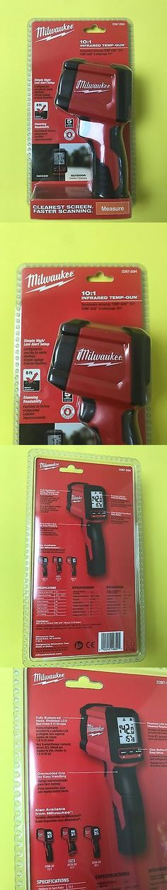 Electrical Testers 126406: Milwaukee Laser Temperature Gun Lcd Display Infrared Fastest Reading Great Brand -> BUY IT NOW ONLY: $72.99 on eBay!