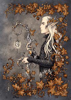 Thranduil by Candra on DeviantArt Legolas, Dragons, Lotr Elves, Fanart, O Hobbit, Jrr Tolkien, Illustrations, Lord Of The Rings, Lord Rings