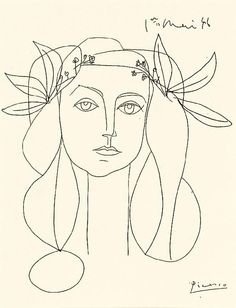 Picasso. Head, 1948