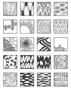 ZENTANGLE PATTERNS noncat 3 | Flickr - Photo Sharing!