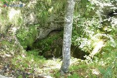 Katina jama (pit) - one of many natural cavities that served as a convenient way to dispose of the bodies of exterminated Serbs.