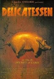 Delicatessen is a 1991 French black comedy film, directed by Jean-Pierre Jeunet and Marc Caro. Vernon, Love Movie, Movie Tv, Movie List, Marc Caro, Musical Saw, Sweet Stories, Comedy Films, Film Awards
