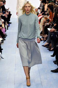 Chloé Fall 2012 Ready-to-Wear Fashion Show - Aline Weber (Next)