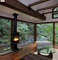 Fireplace view opposite side.