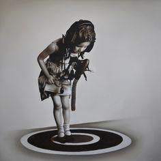 Michael Peck -oil on linen