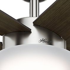 The Hunter Fans Hembree Ceiling Fan blends casual with contemporary for a powerful cooling system that fits any interior setting. Made from metal, the Hembree Ceiling Fan offers noiseless operation with its WhisperWind motor, delivering hours of ultra-powerful airflow without distraction. Features a bowl light kit for added luminance in dark spaces. The Hembree Ceiling Fan includes a pull-chain for easy manual operation.