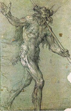 Vicente Carducci (1568 - 1638 ) - Le Diable - dessin