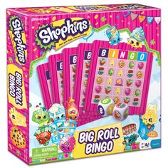 AmazonSmile: Shopkins Big Roll Bingo: Toys & Games $10