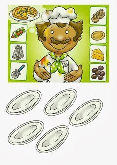 zoek bij elkaar, thema restaurant Helper Jobs, Community Workers, Community Helpers, Baby Learning, Food Illustrations, Games For Kids, Preschool, Projects To Try, Fruit