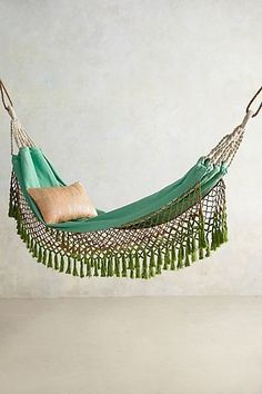 Canyon Fringe Hammock - would be cool to find a place to hang this inside the house