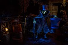 Haunted Mansion's new Hatbox Ghost revealed by Walt Disney Imagineering | The Disney Blog